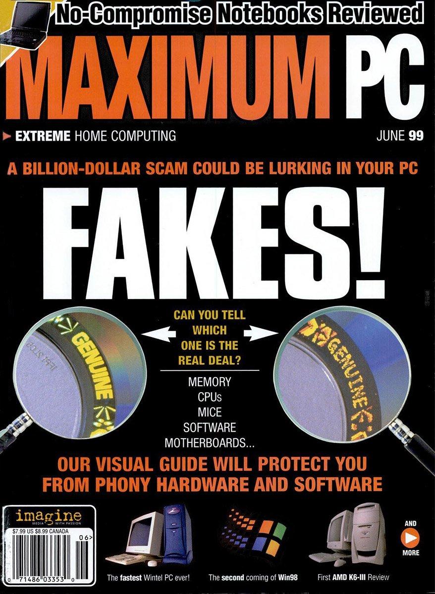 Maximum PC Issue 010 June 1999