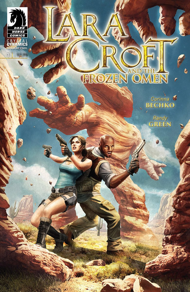 Lara Croft And The Frozen Omen 003 (December 2015)