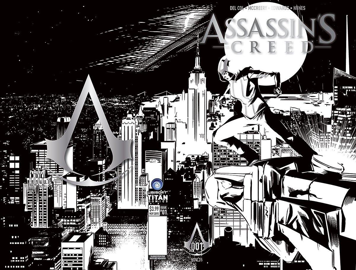 Assassin's Creed 001 (New York Comic Con variant) (November 2015)