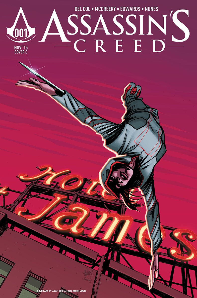 Assassin's Creed 001 (cover c) (November 2015)