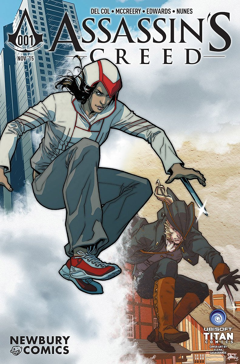 Assassin's Creed 001 (Newbury Comics variant) (November 2015)