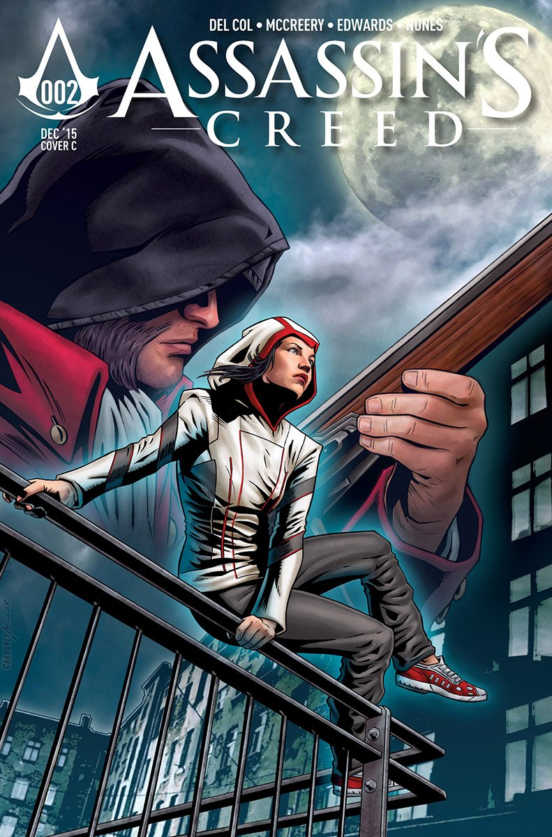 Assassin's Creed 002 (cover c) (December 2015)