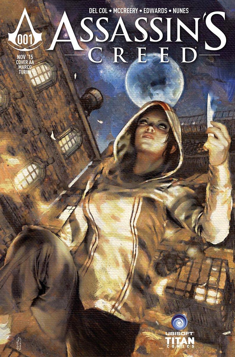 Assassin's Creed 001 (cover aa) (November 2015)