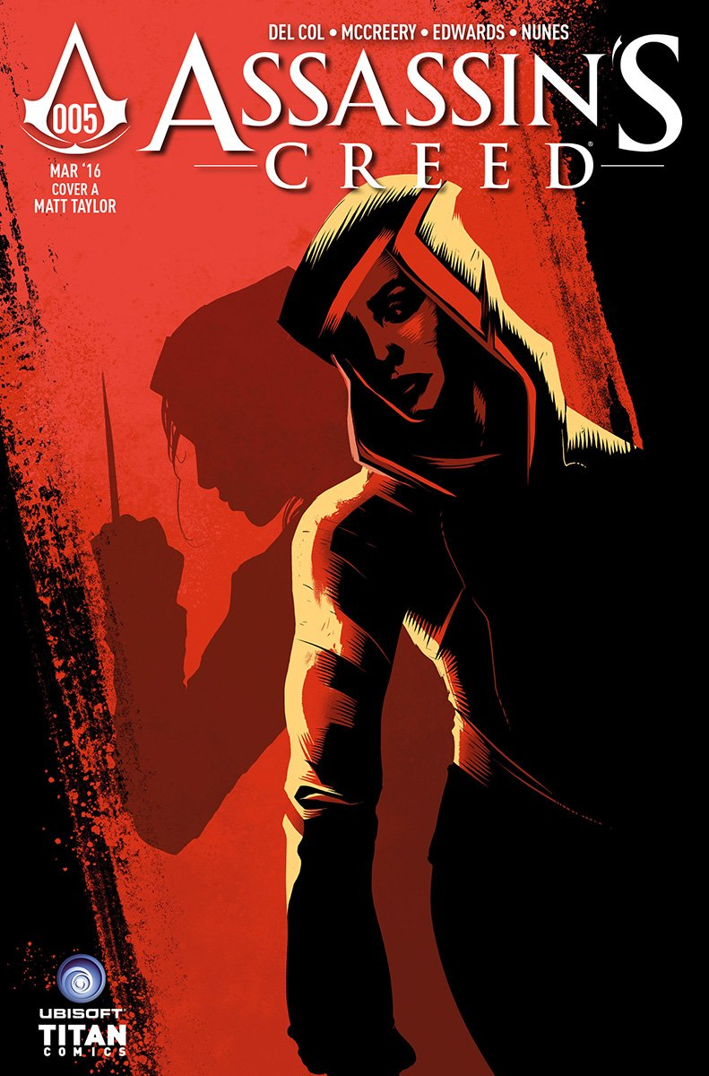 Assassin's Creed 005 (cover a) (March 2016)