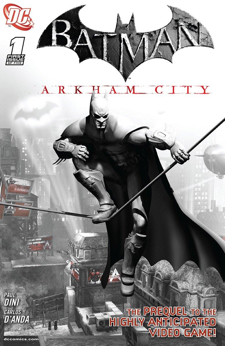 Batman: Arkham City 001b (July 2011)