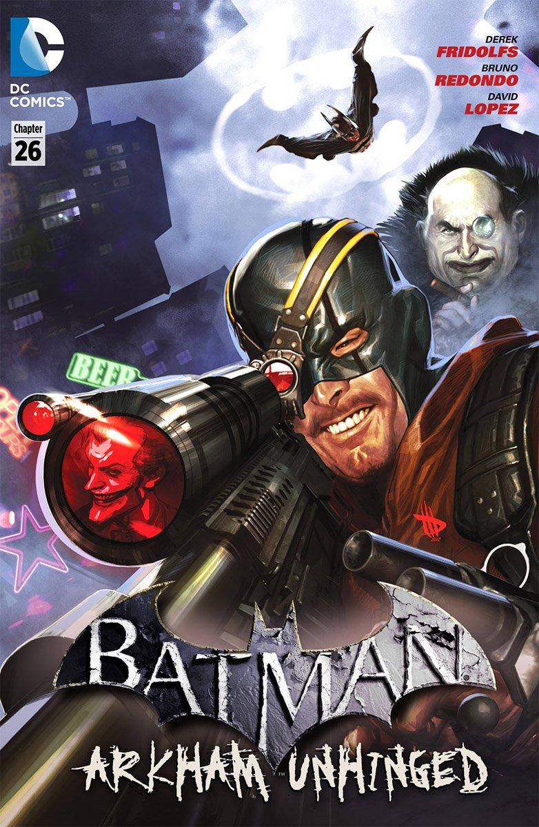 Batman: Arkham Unhinged 010 (chapter 26-28) (2012)