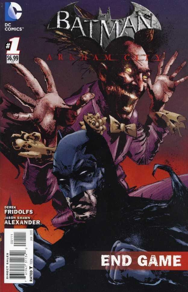 Batman: Arkham City Endgame (cover B) (January 2013)