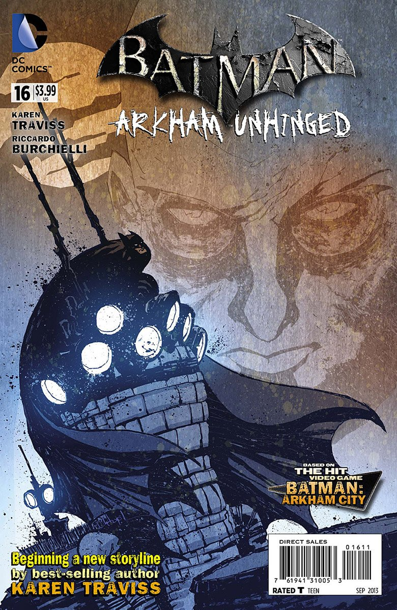 Batman: Arkham Unhinged 016 (print edition)