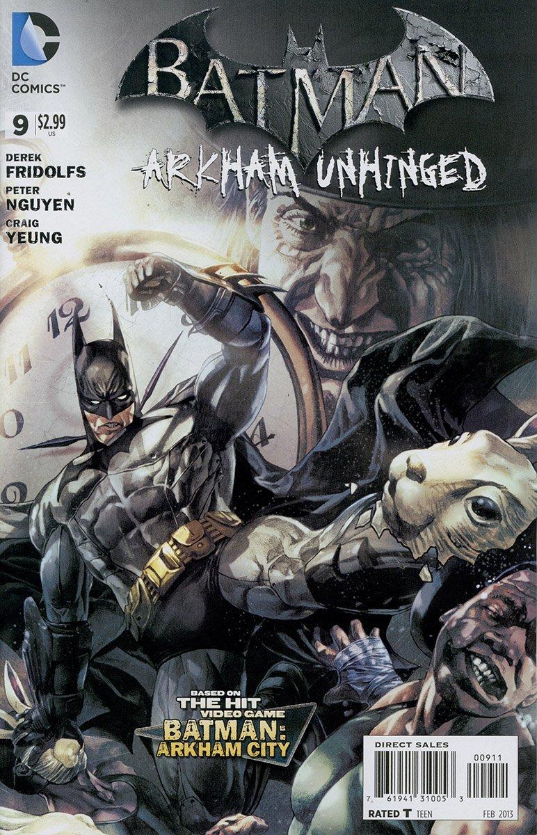 Batman: Arkham Unhinged 009 (print version)