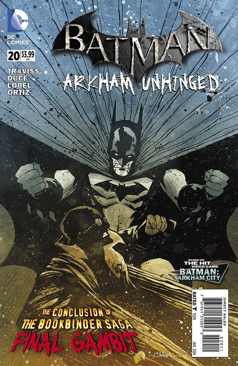 Batman: Arkham Unhinged 020 (print edition)