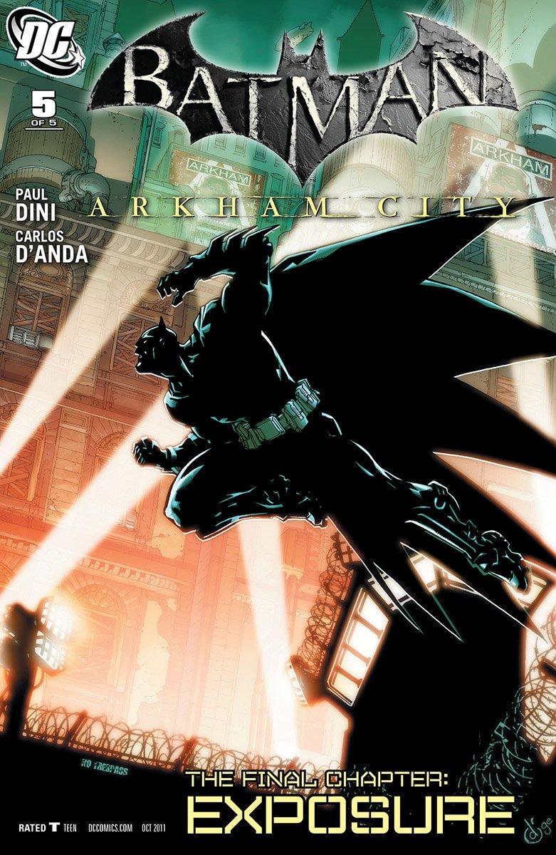 Batman: Arkham City 005 (September 2011)