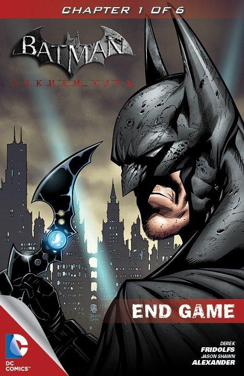 Batman: Arkham City End Game (chapters 1-3 alt) (2012)