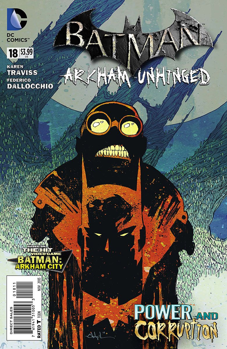Batman: Arkham Unhinged 018 (print edition)