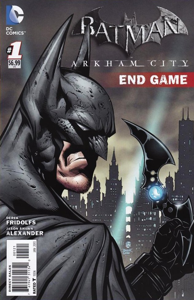 Batman: Arkham City Endgame (cover A) (January 2013)