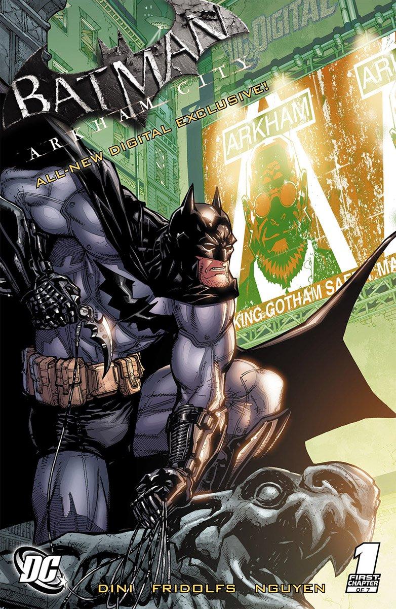 Batman: Arkham City (digital exclusive chapters) (2011)