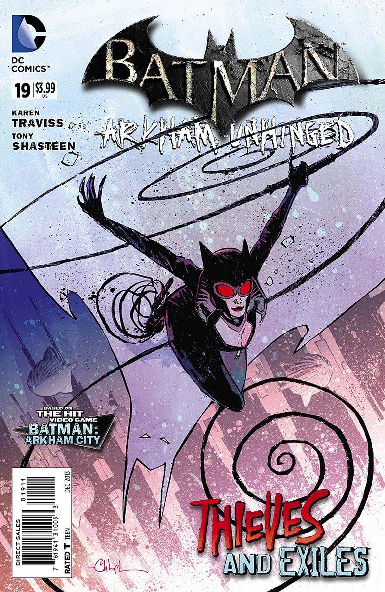 Batman: Arkham Unhinged 019 (print edition)