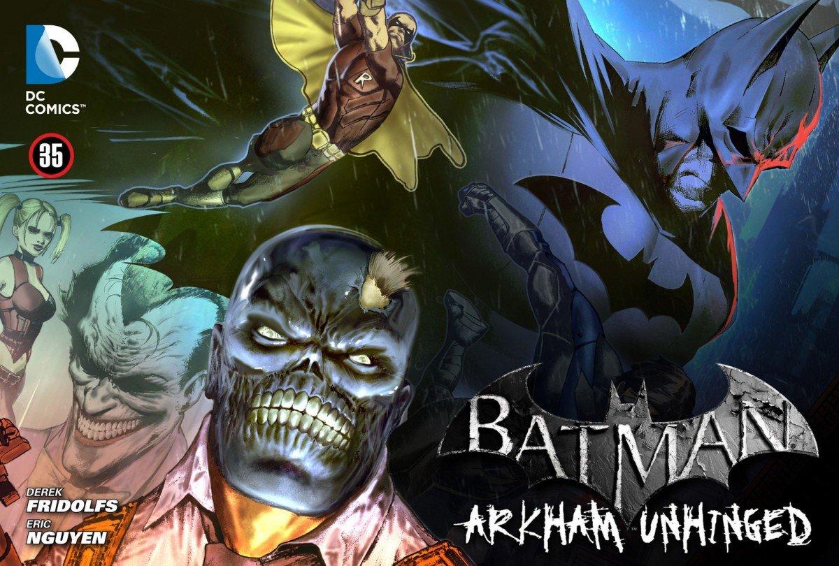 Batman: Arkham Unhinged 013 (chapter 35-37) (2012)