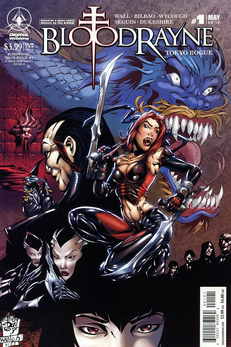 BloodRayne: Tokyo Rogue 01 (May 2008)