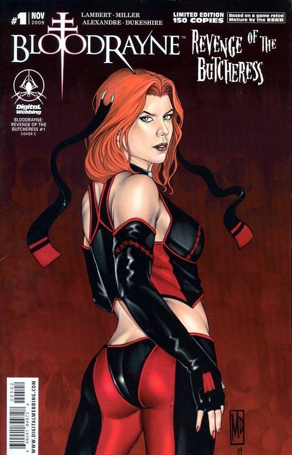 BloodRayne: Revenge of the Butcheress (limited edition) (November 2009)