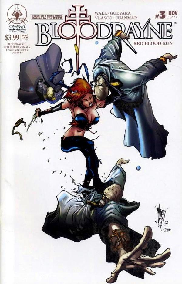 Bloodrayne: Red Blood Run 03 (cover b) (November 2007)