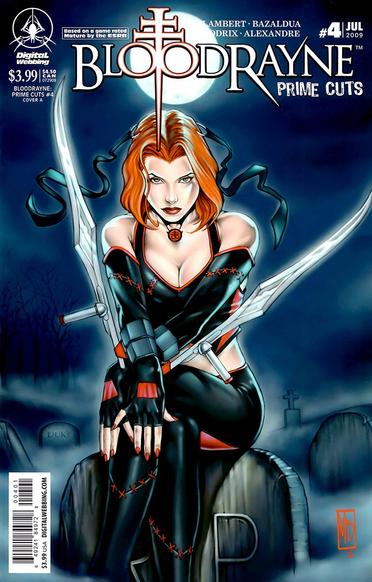 BloodRayne: Prime Cuts 04 (cover A) (July 2009)
