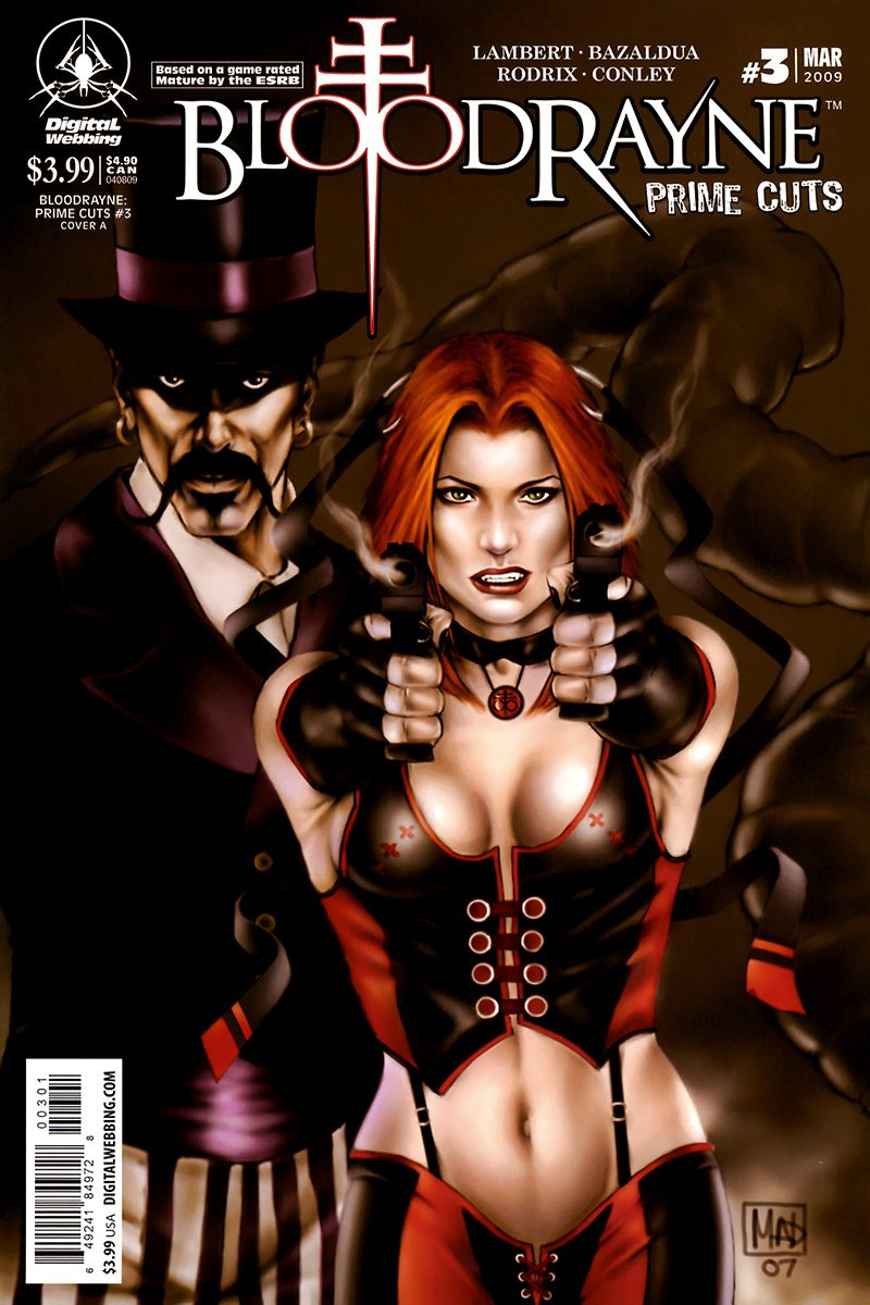 BloodRayne: Prime Cuts 03 (cover A) (March 2009)