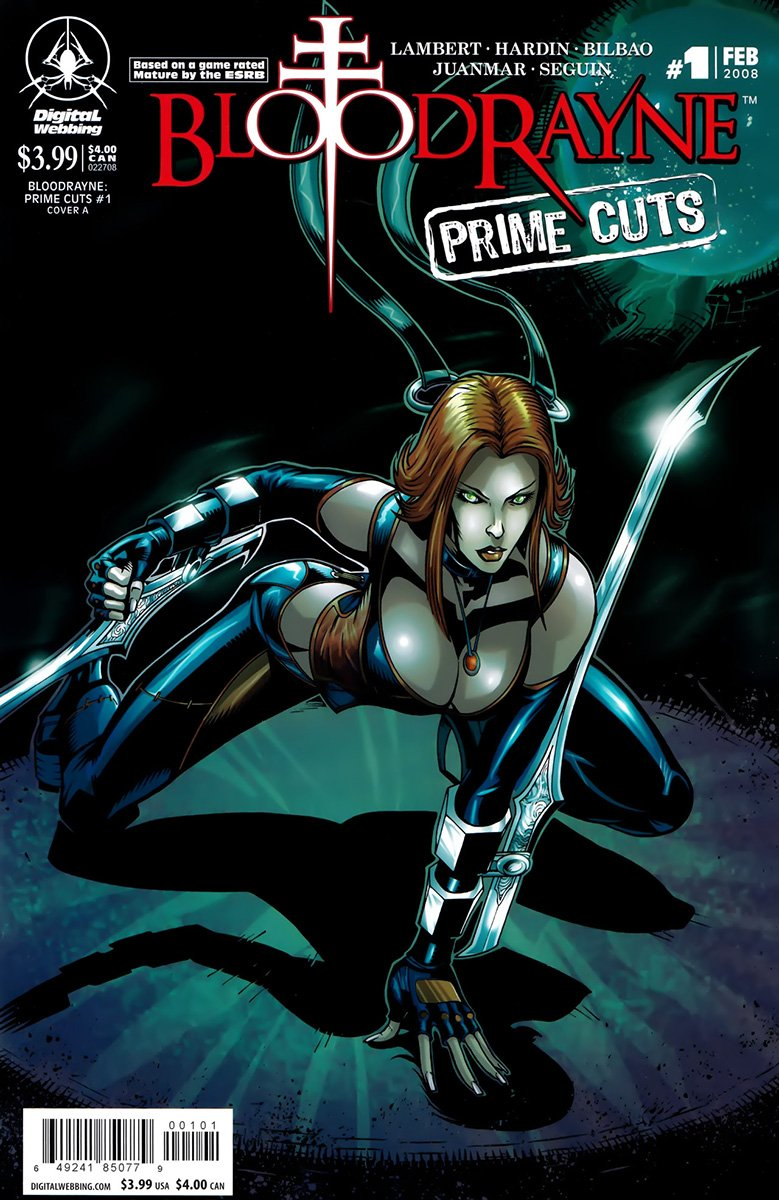 BloodRayne: Prime Cuts 01 (cover a) (February 2008)