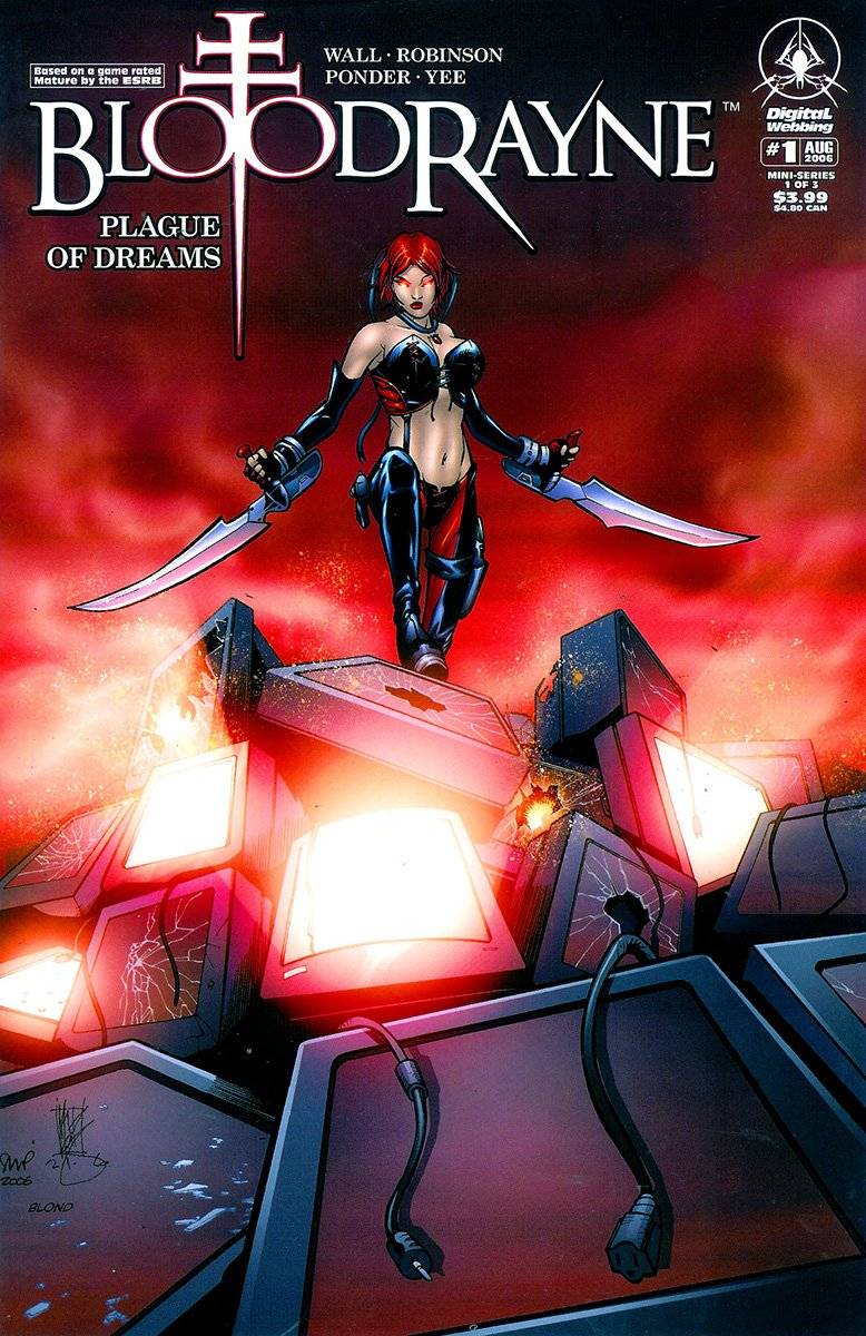 BloodRayne: Plague of Dreams 01 (cover b) (August 2006)