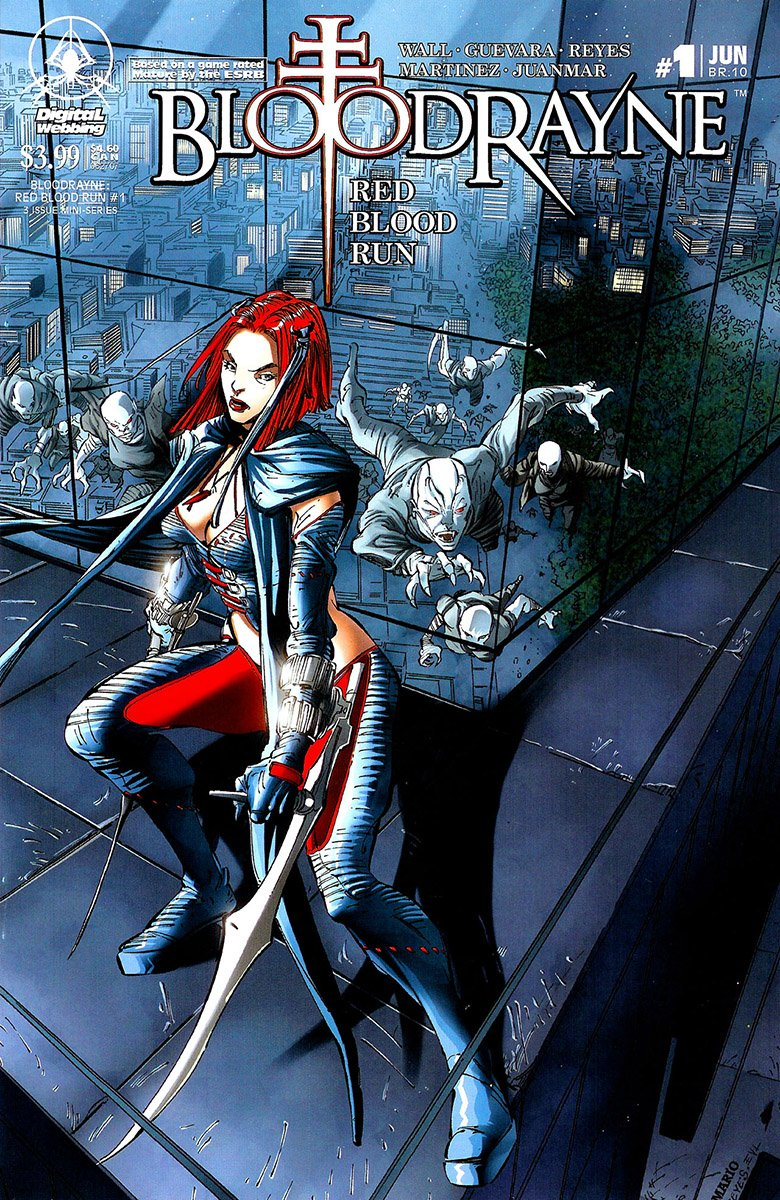 BloodRayne: Red Blood Run 01 (cover a) (June 2007)