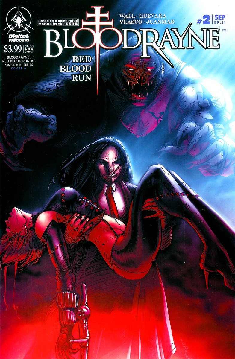 BloodRayne: Red Blood Run 02 (cover a) (September 2007)