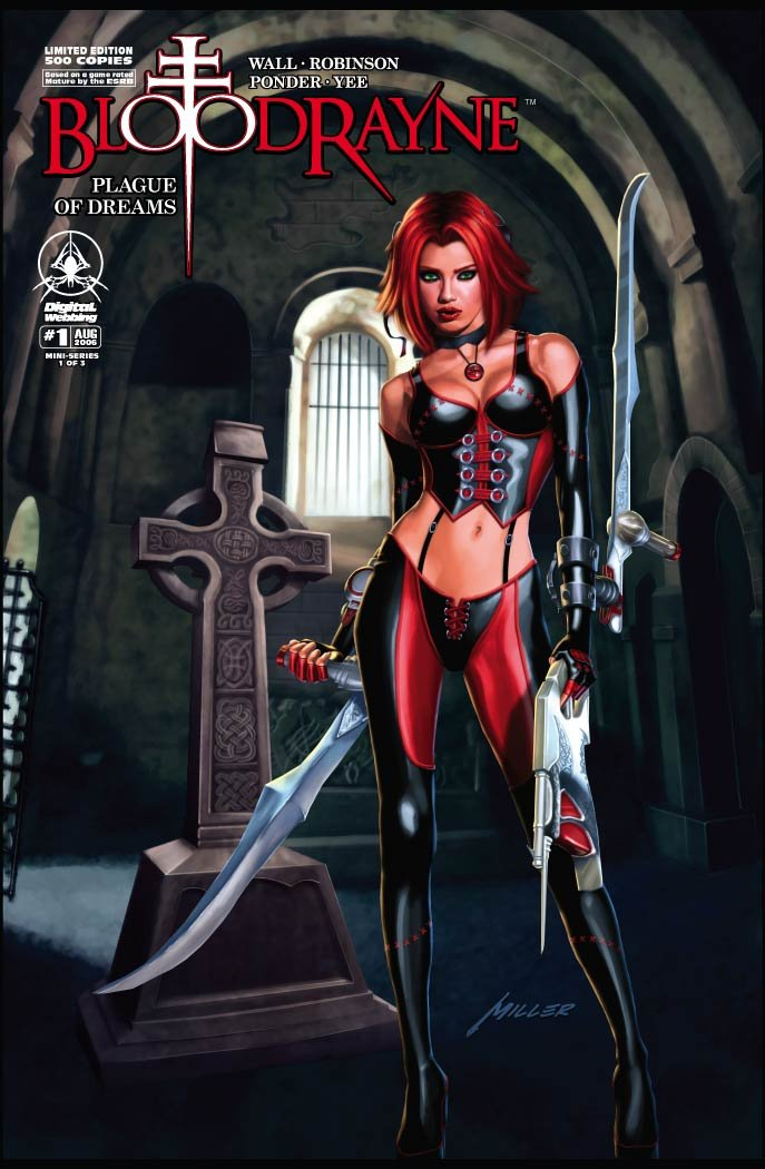BloodRayne: Plague of Dreams 01 (cover c) (August 2006)