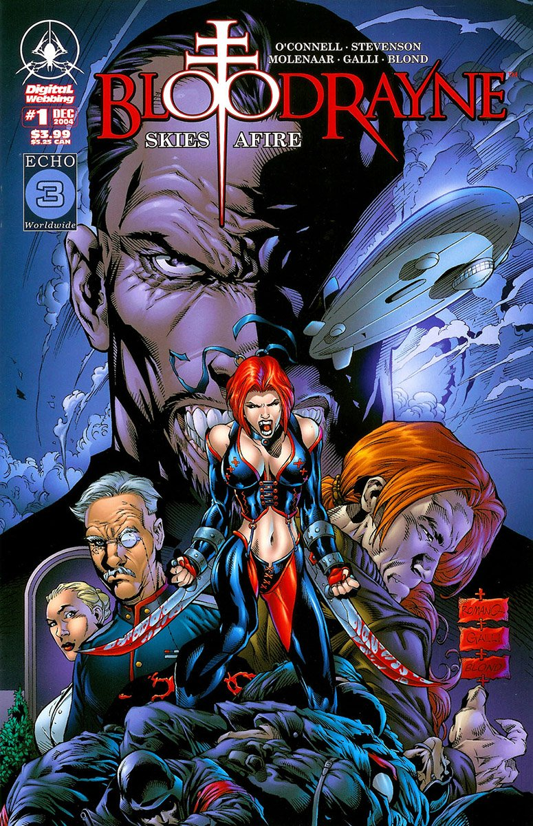 BloodRayne: Skies Afire (December 2004)