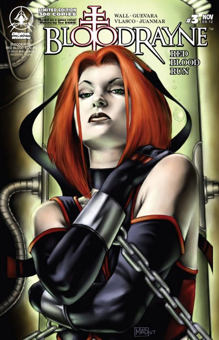 BloodRayne: Red Blood Run 03 (limited edition) (November 2007)
