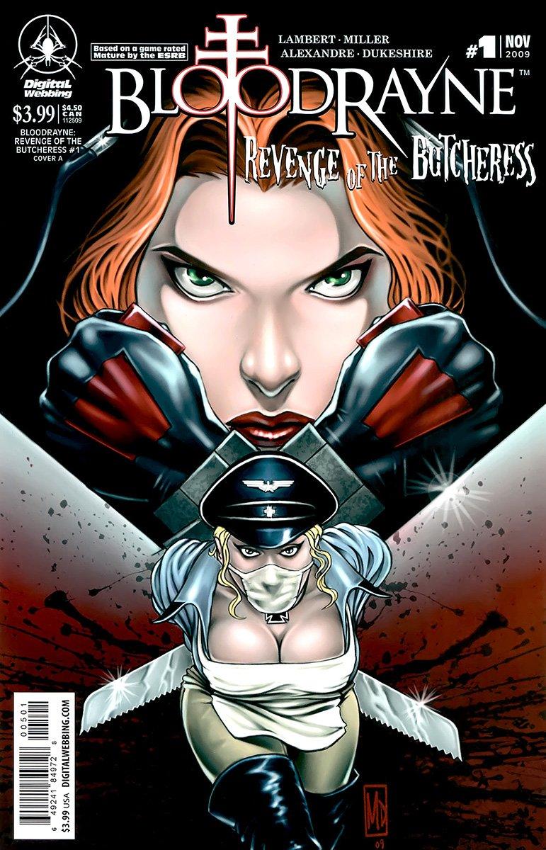 BloodRayne: Revenge of the Butcheress (cover A) (November 2009)