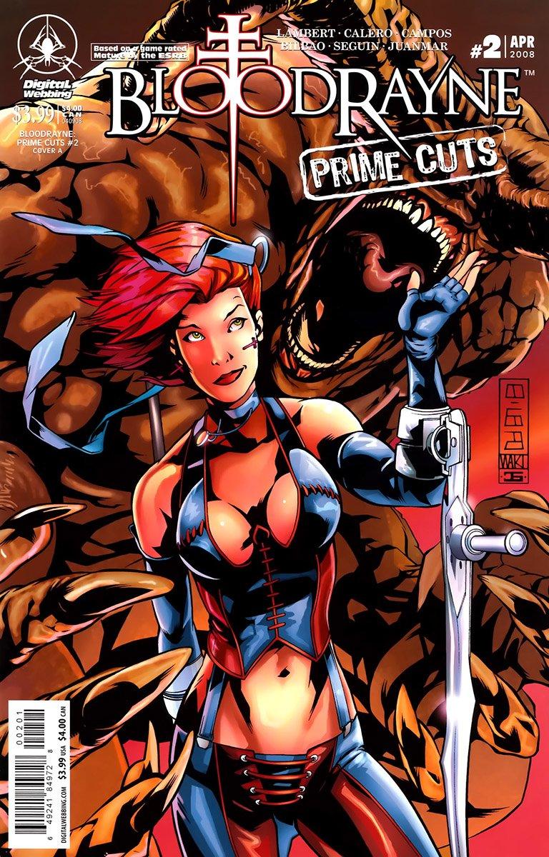 BloodRayne: Prime Cuts 02 (cover A) (April 2008)