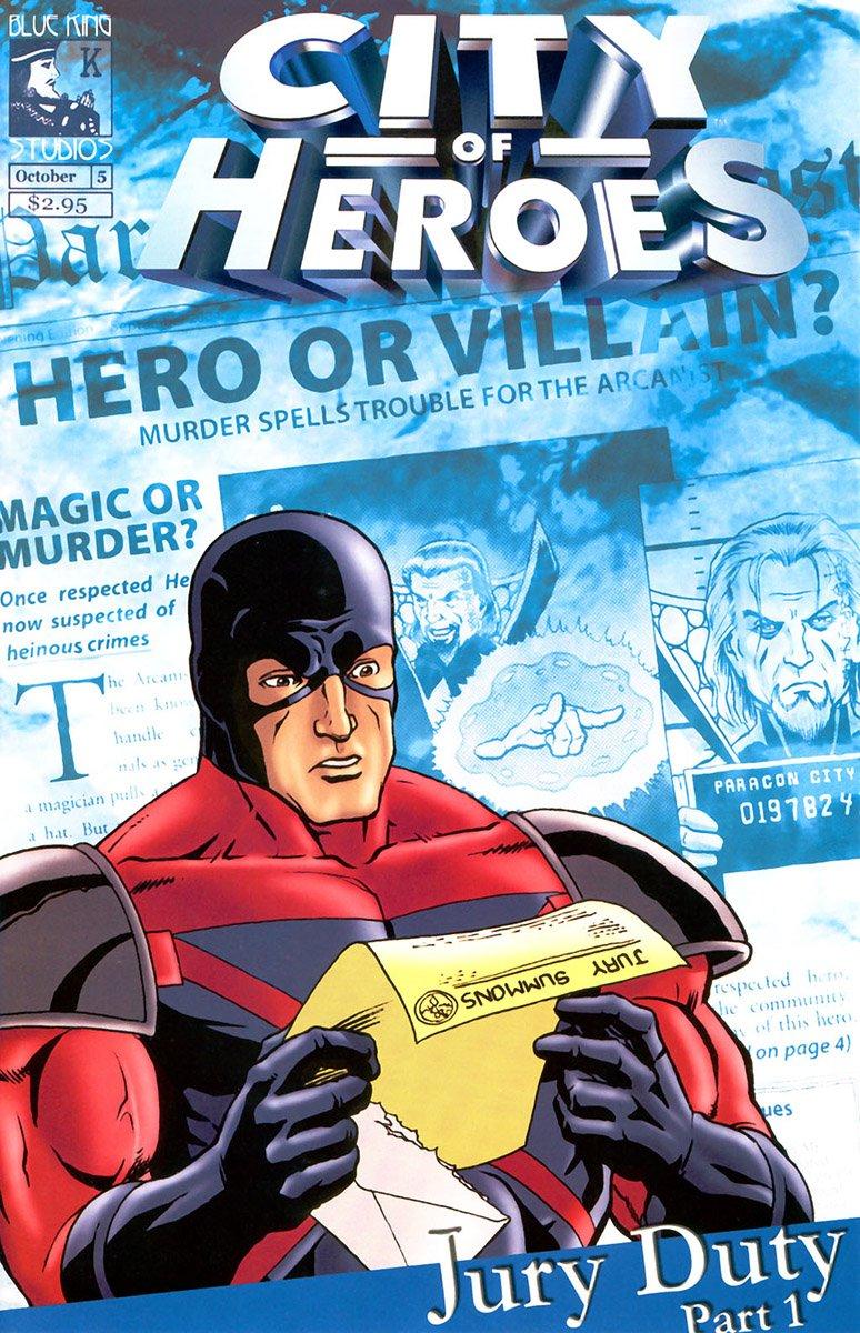City of Heroes v1 05 (October 2004)
