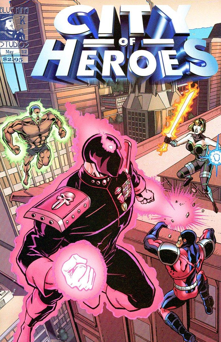 City of Heroes v1 12 (May 2005)