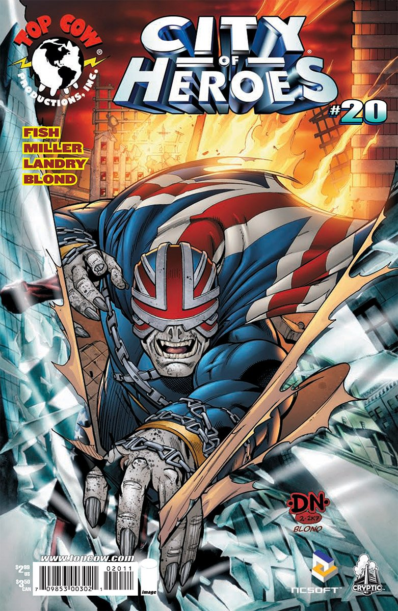 City of Heroes v2 20 (August 2007)