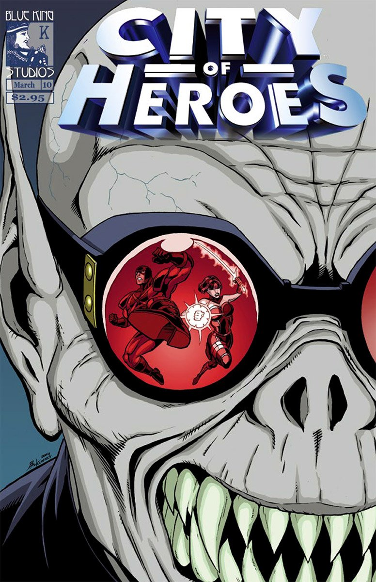 City of Heroes v1 10 (March 2005)