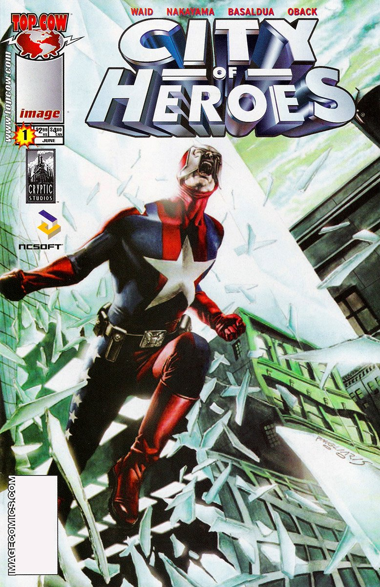 City of Heroes v2 01 (Migliari variant) (June 2005)