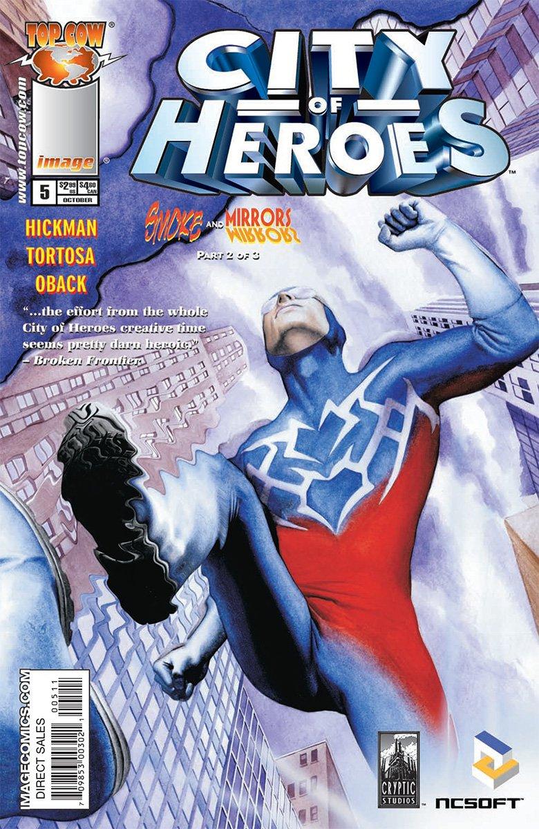 City of Heroes v2 05 (October 2005)