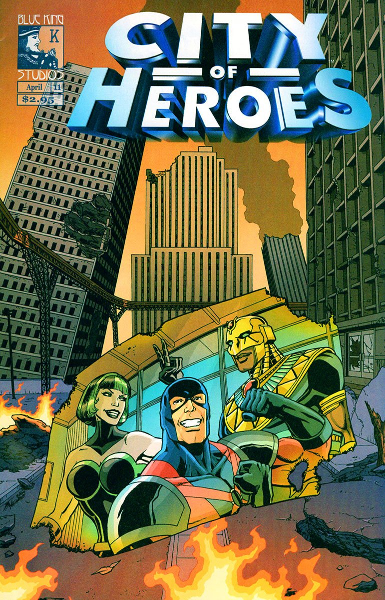 City of Heroes v1 11 (April 2005)