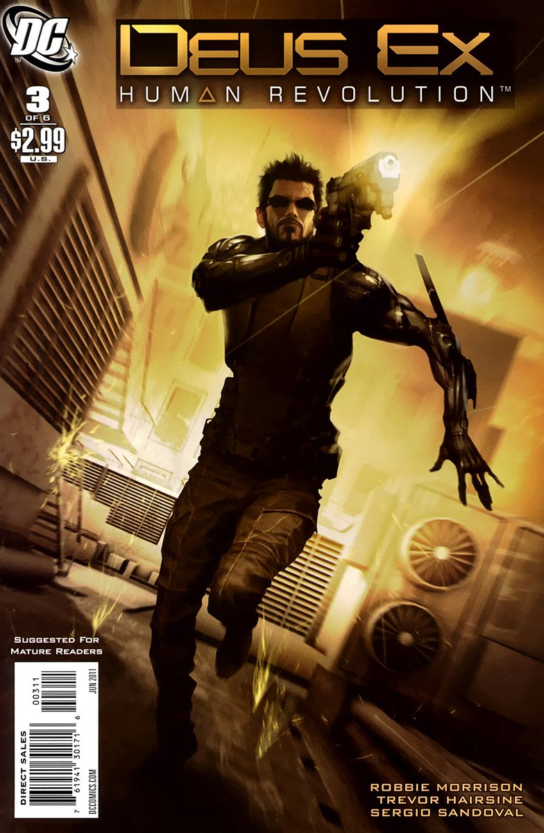Deus Ex: Human Revolution 003 (June 2011)