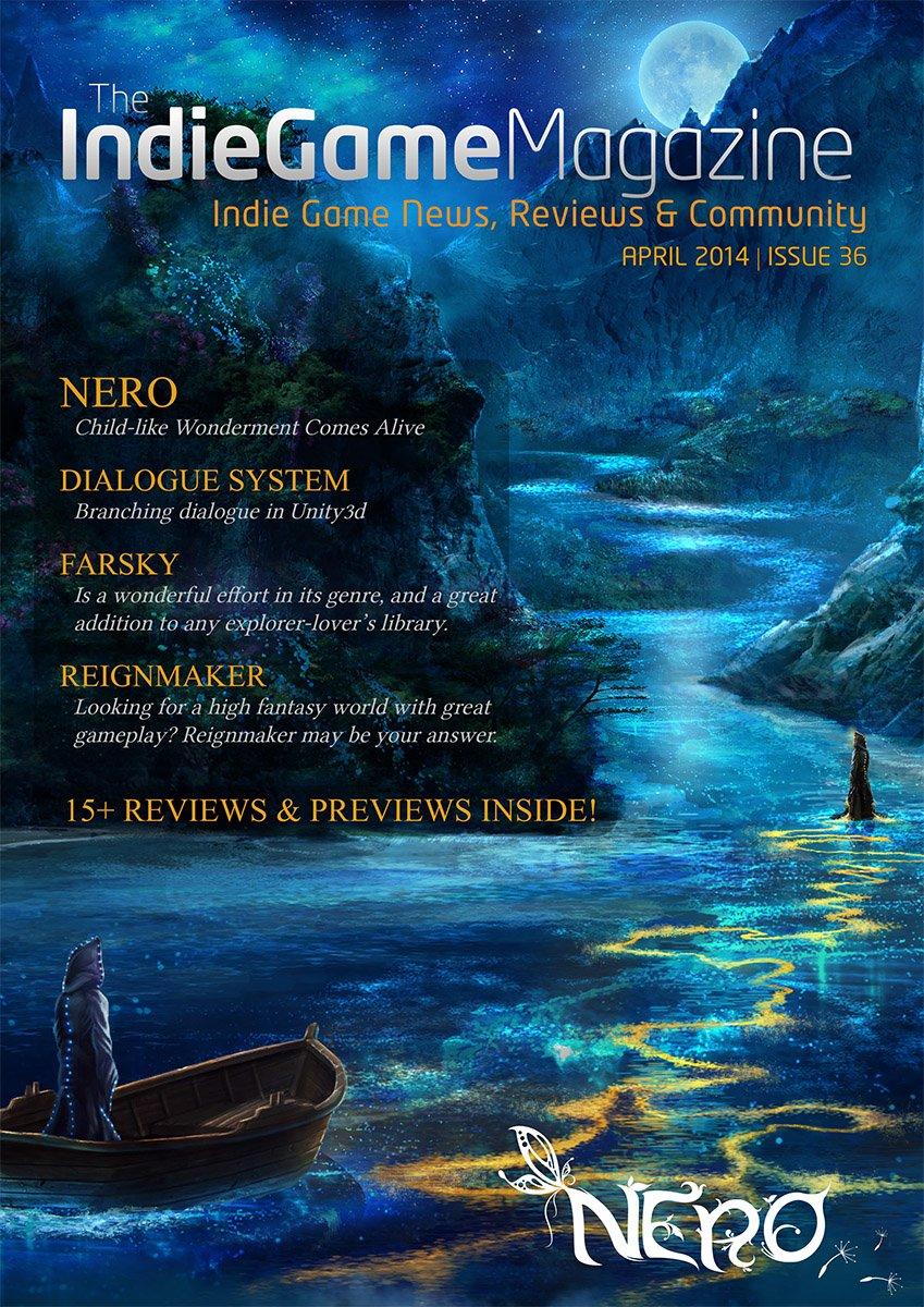 Indie Game Magazine 036 April 2014