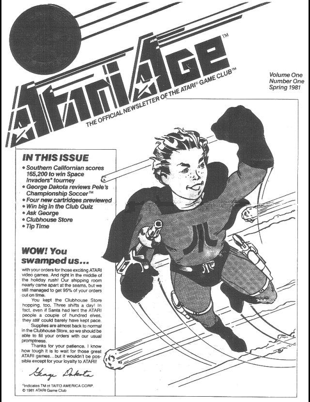 Atari Age (1981) Issue 01