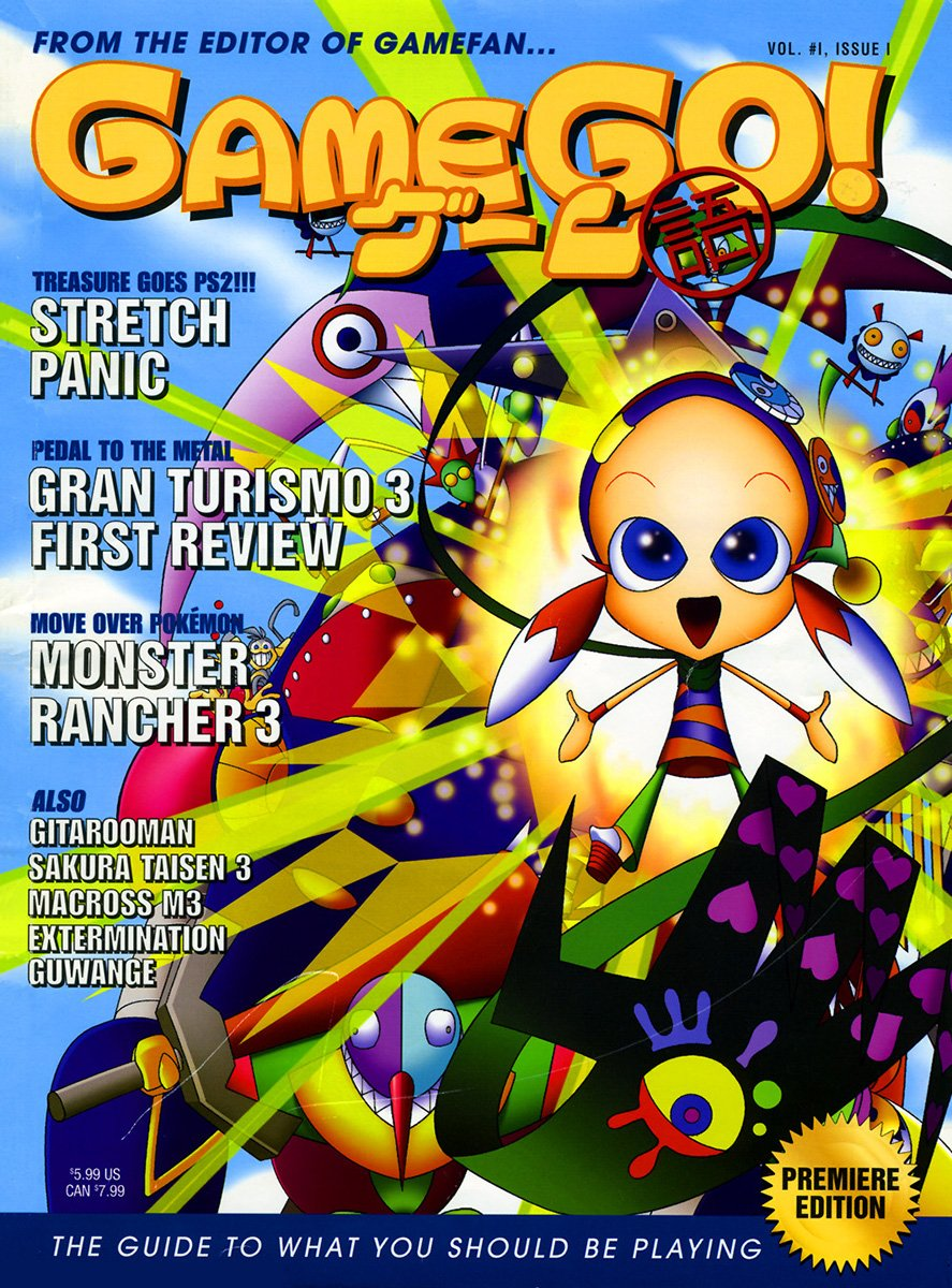 GameGo! Issue 01 (cover a) June 2001