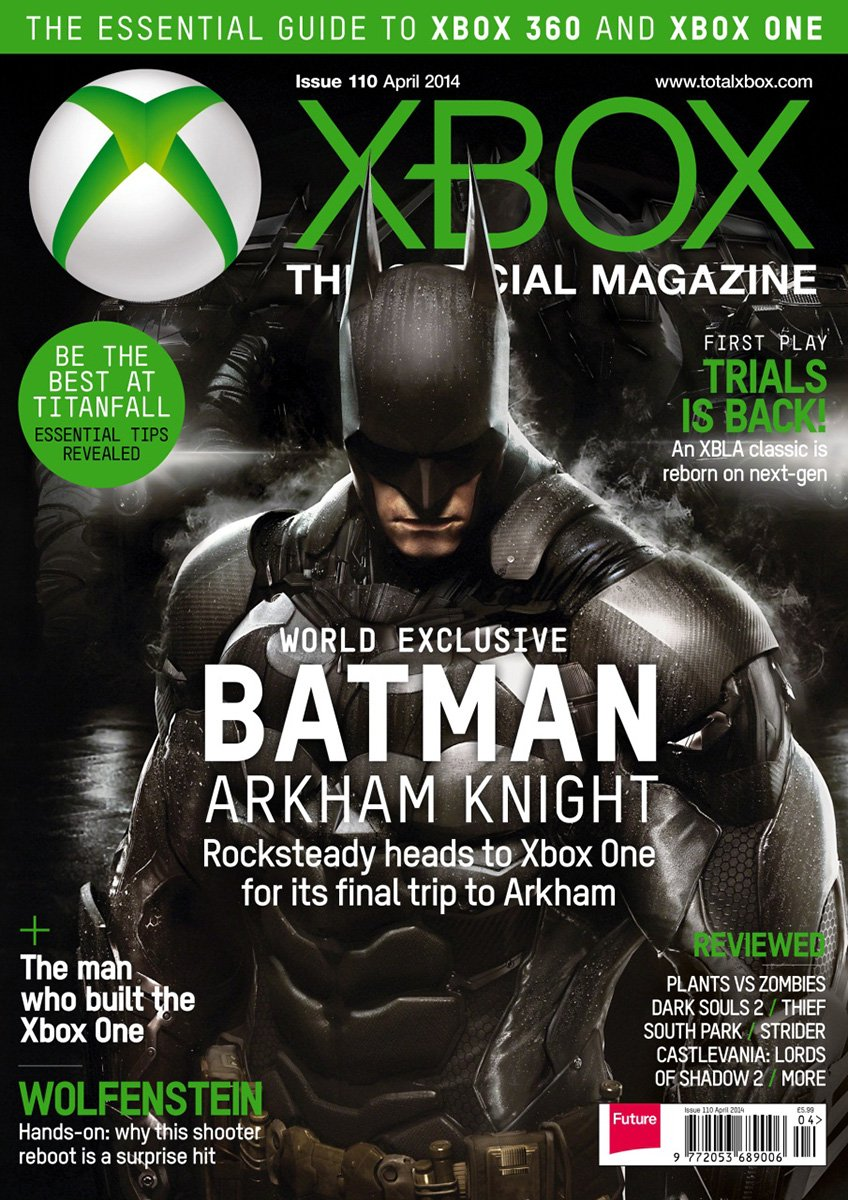 XBOX The Official Magazine Issue 110 April 2014