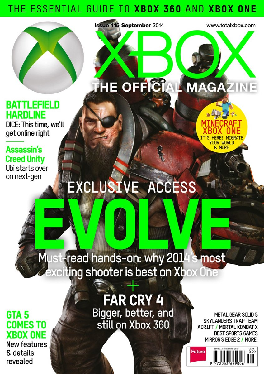 XBOX The Official Magazine Issue 115 September 2014