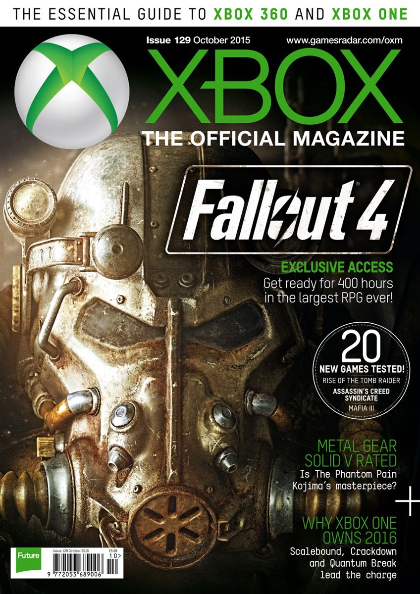 XBOX The Official Magazine Issue 129 October 2015