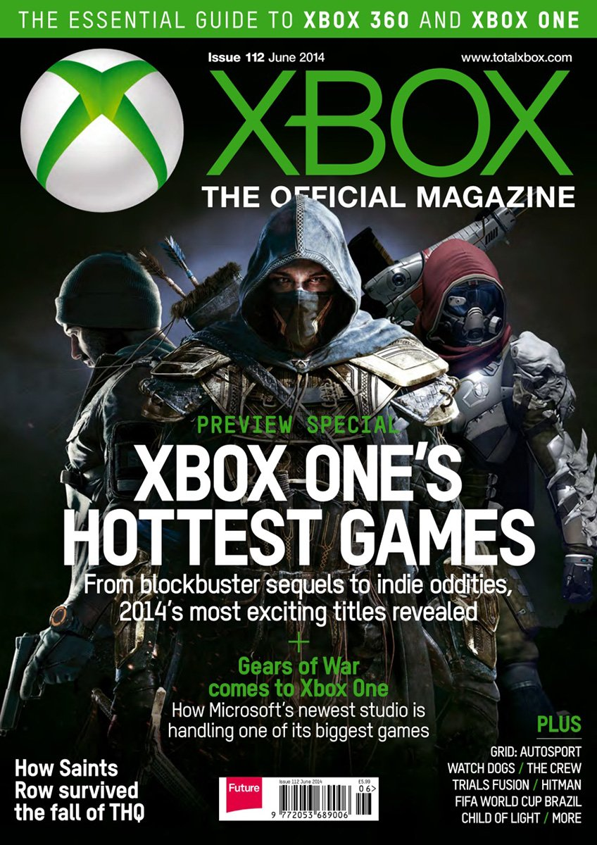 XBOX The Official Magazine Issue 112 June 2014